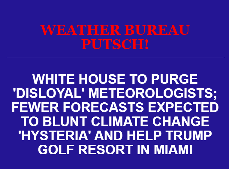 weather bureau