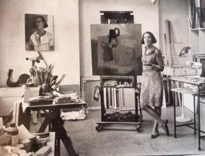 franyo in her studio