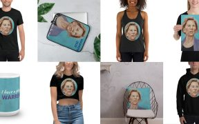 Elizabeth Warren merch