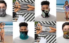 swimwear face masks