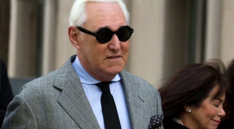 roger stone commuted