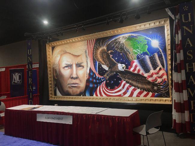 donald trump portrait